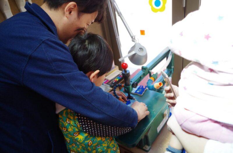糸ノコでジグゾーパズルを作ろう!