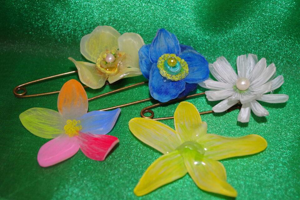 母の日プレゼント「プラバンでお花づくり」