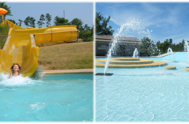 ウォータースライダー&水の遊び場についてのご案内