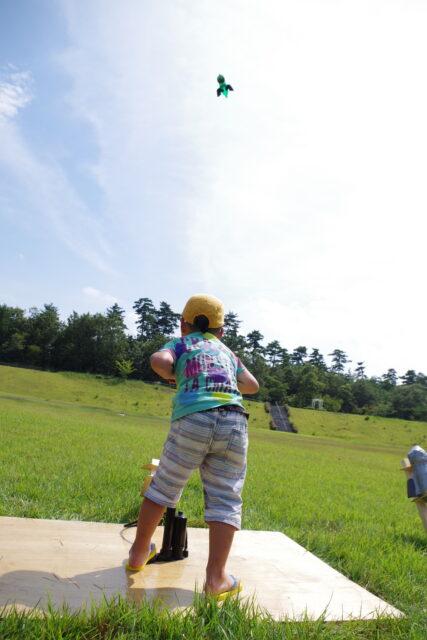 大空高く飛べ!ペットボトルロケット