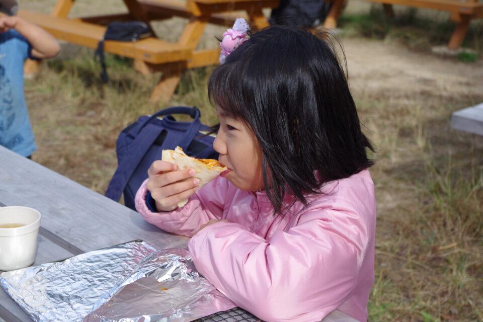 キャンプday「美味しいピザを作ろう」